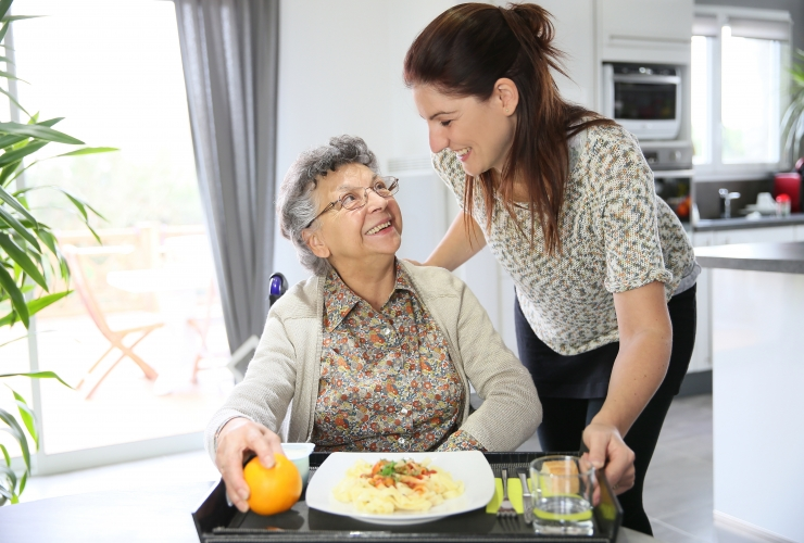 In Home Care Meal Preparation